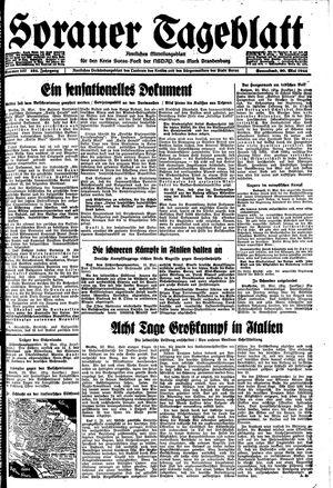 Sorauer Tageblatt on May 20, 1944