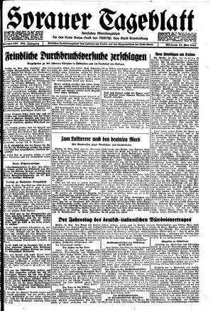 Sorauer Tageblatt vom 24.05.1944
