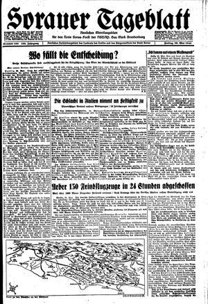 Sorauer Tageblatt on May 26, 1944