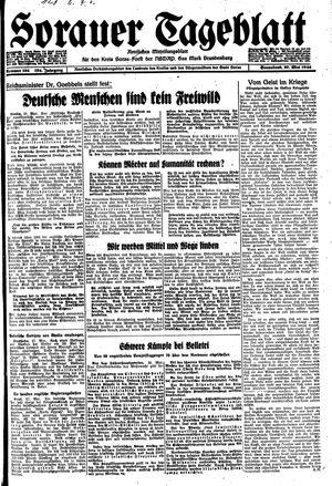 Sorauer Tageblatt vom 27.05.1944