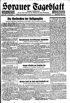 Sorauer Tageblatt vom 31.05.1944