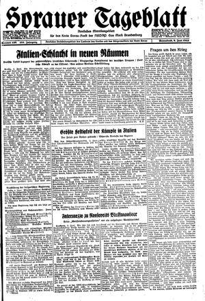 Sorauer Tageblatt vom 03.06.1944