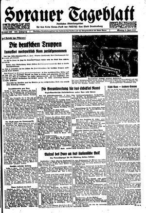 Sorauer Tageblatt on Jun 5, 1944