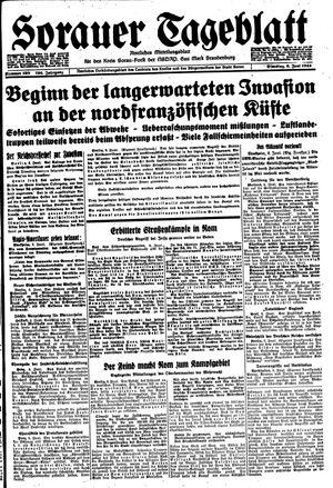 Sorauer Tageblatt vom 06.06.1944