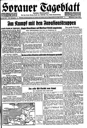 Sorauer Tageblatt vom 07.06.1944