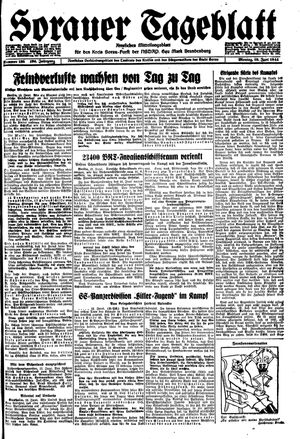 Sorauer Tageblatt vom 12.06.1944