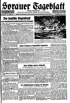 Sorauer Tageblatt on Jun 13, 1944