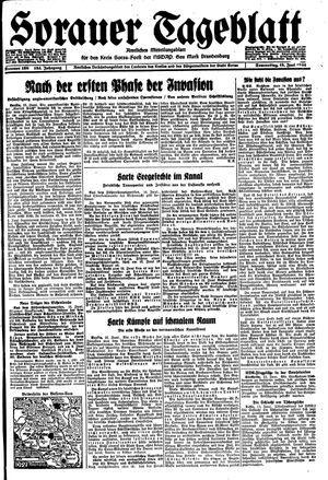 Sorauer Tageblatt vom 15.06.1944