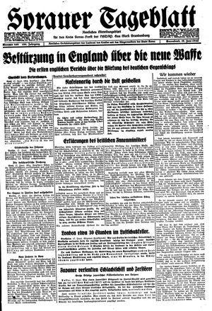 Sorauer Tageblatt vom 17.06.1944