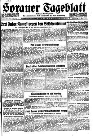 Sorauer Tageblatt on Jun 22, 1944