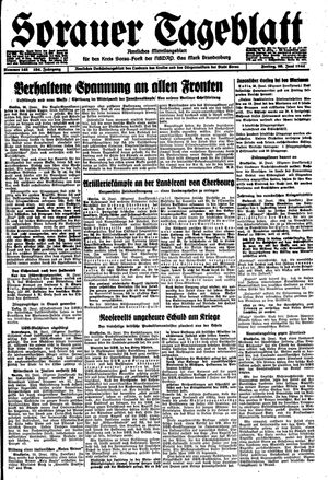 Sorauer Tageblatt vom 23.06.1944