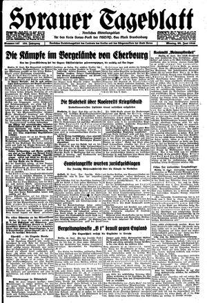 Sorauer Tageblatt vom 26.06.1944