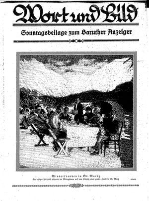 Baruther Anzeiger vom 23.01.1926
