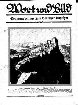 Baruther Anzeiger on Feb 6, 1926