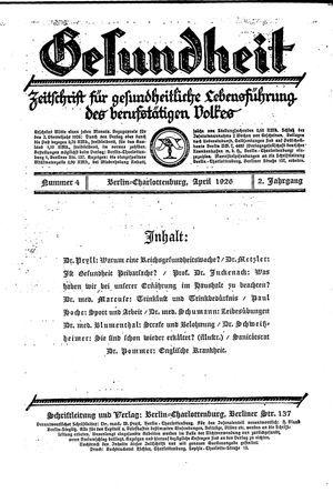 Baruther Anzeiger vom 22.04.1926