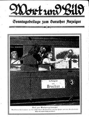 Baruther Anzeiger vom 01.05.1926