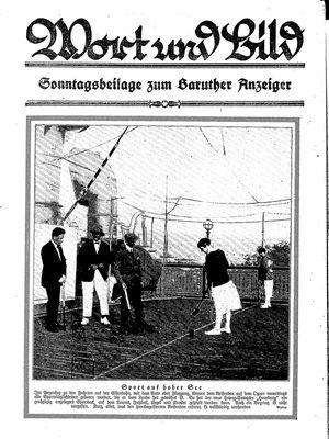 Baruther Anzeiger vom 22.05.1926