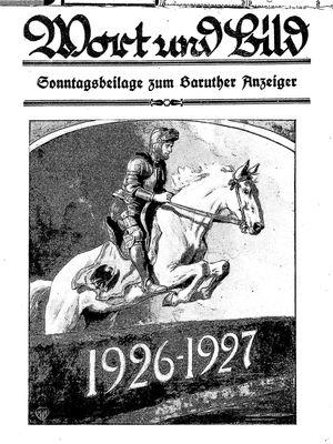 Baruther Anzeiger vom 01.01.1927