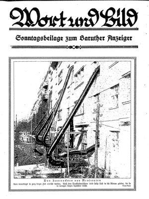 Baruther Anzeiger vom 12.02.1927