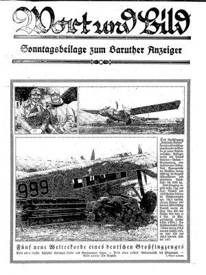 Baruther Anzeiger vom 19.02.1927