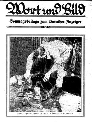 Baruther Anzeiger vom 19.03.1927