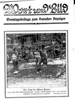 Baruther Anzeiger vom 07.05.1927