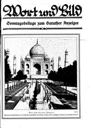 Baruther Anzeiger vom 14.01.1928