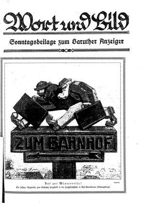 Baruther Anzeiger vom 28.01.1928