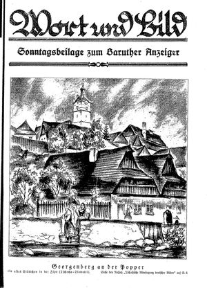 Baruther Anzeiger vom 04.02.1928