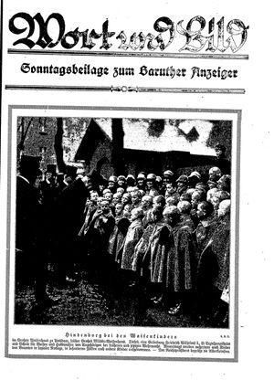 Baruther Anzeiger vom 18.02.1928