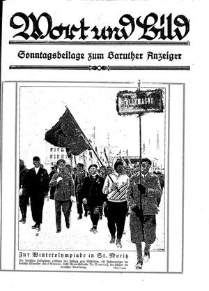 Baruther Anzeiger on Feb 25, 1928
