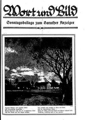 Baruther Anzeiger vom 10.03.1928