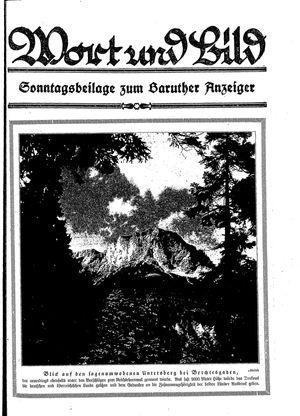 Baruther Anzeiger vom 24.03.1928