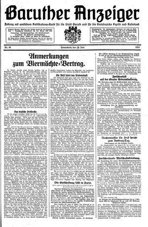 Baruther Anzeiger on Jun 10, 1933