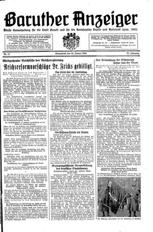 Baruther Anzeiger on Jan 26, 1935