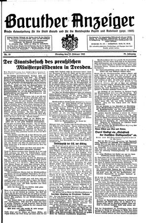 Baruther Anzeiger on Feb 12, 1935