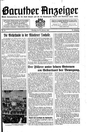 Baruther Anzeiger vom 26.02.1935