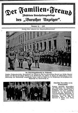 Baruther Anzeiger vom 25.04.1935
