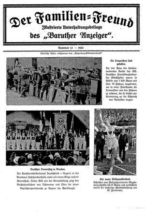 Baruther Anzeiger vom 02.05.1935