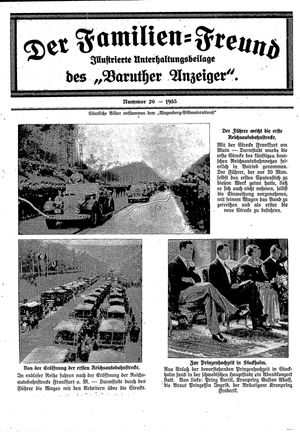Baruther Anzeiger on May 23, 1935