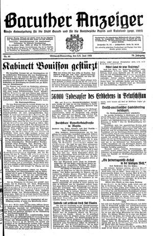Baruther Anzeiger vom 05.06.1935