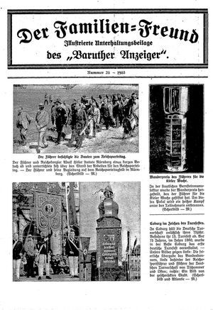 Baruther Anzeiger vom 13.06.1935