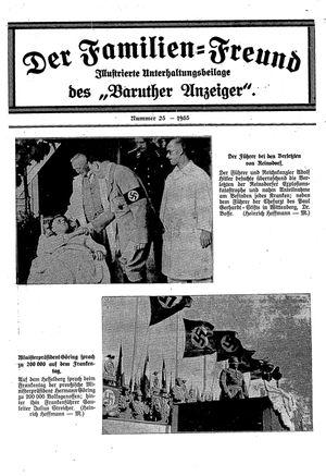 Baruther Anzeiger vom 27.06.1935