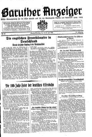 Baruther Anzeiger vom 15.07.1935