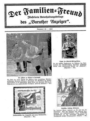 Baruther Anzeiger vom 25.07.1935