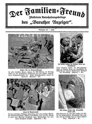 Baruther Anzeiger vom 01.08.1935