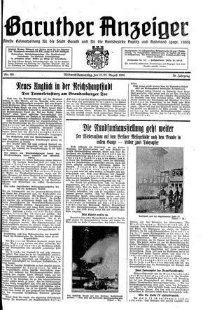 Baruther Anzeiger vom 21.08.1935