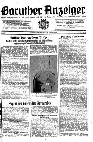 Baruther Anzeiger vom 02.10.1935