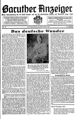 Baruther Anzeiger on Jan 29, 1937