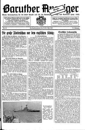 Baruther Anzeiger vom 21.05.1937